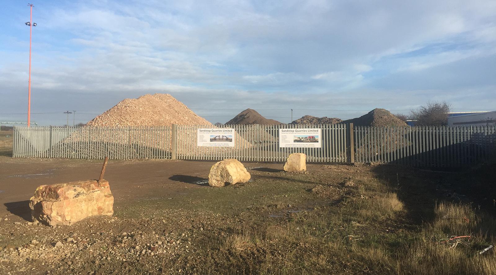 Sandstop Quarries - Depots
